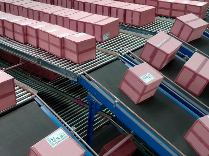 instalacion cinta transportadora industrial