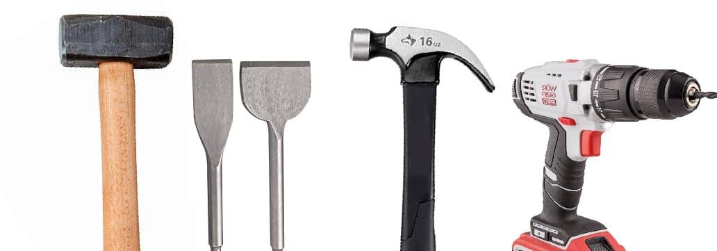 herramientas de percusion