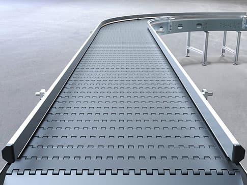 Imagen de una cinta transportadora construida en HNTools
