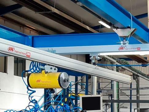 Imagen de un sistema de desplazamiento de cargas