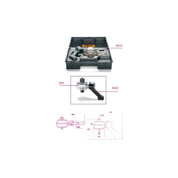 Multiplicador de par a la derecha / a la izquierda y accesorios