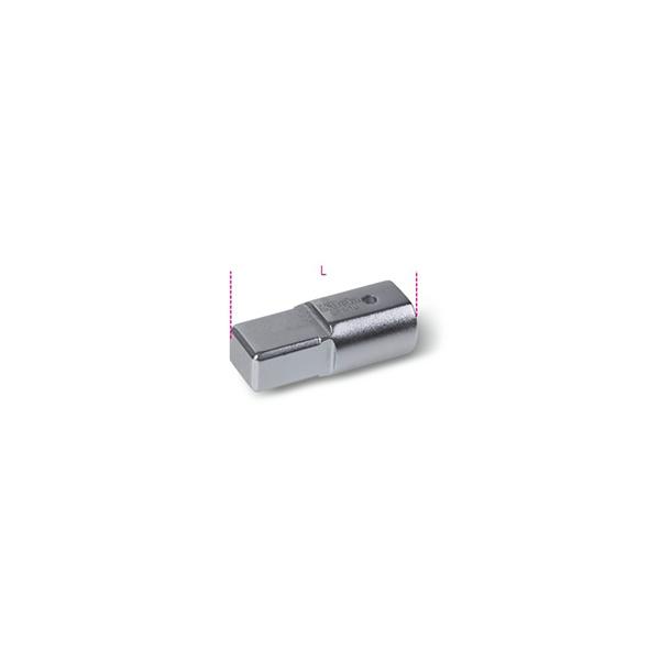 Union con rectangulo hembra 9x12 mm y macho 14x18 mm