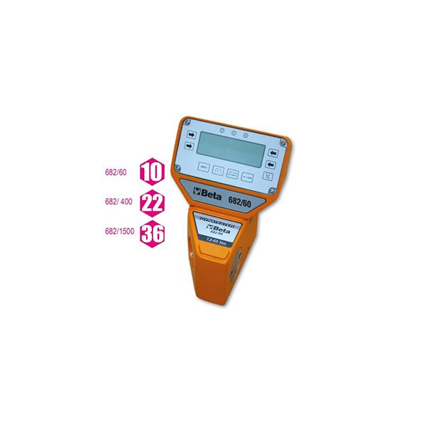 Medidor de par electronico digital  con transductores porciometricos  Dynatester 682 utilizables en sentido horario y antihorario Alta precision de lectura Equipado con puerto serial RS 232