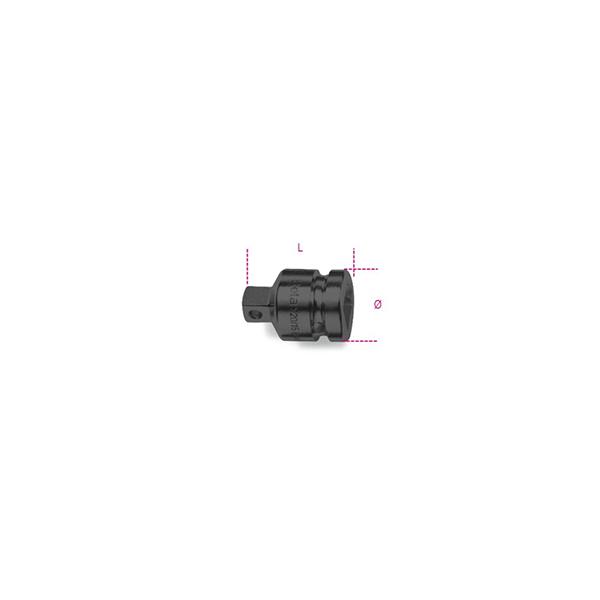 Adaptador de impacto con cuadrado  hembra 3/4Ó y macho 1/2Ó