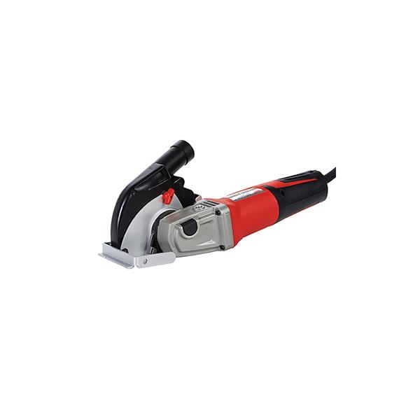 Amoladora angular de 1550W con protector para corte (profundidad de 28mm)