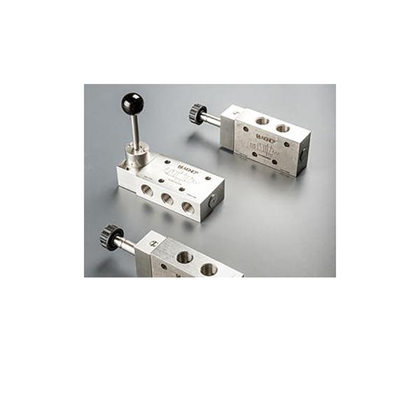 Válvulas Electroneumáticas y Válvulas de Accionamiento Manual en Acero Inoxidable AISI 316L