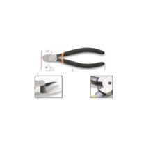 Alicates de cortantes diagonales rasos mangos recubiertos con 2 capas  de PVC antideslizantes
