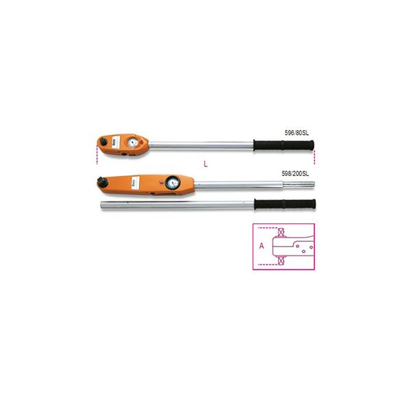 Llaves dinamometricas de lectura directa adecuadas para aprietes a la derecha y a la izquierda precision de apriete ±4%